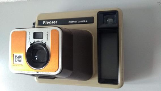 Antiga Câmera Fotográfica Instantânea Kodak Tipo Polaroid