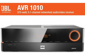 Jbl Avr1010 Receiver 5.1 3d 4k Hdmi Ethernet 3d Dolby True