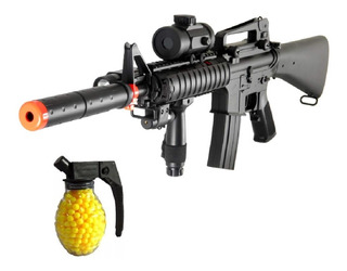 Fusil Airsoft M16 Airsoft Electrica Fusiles Paintball M Auto