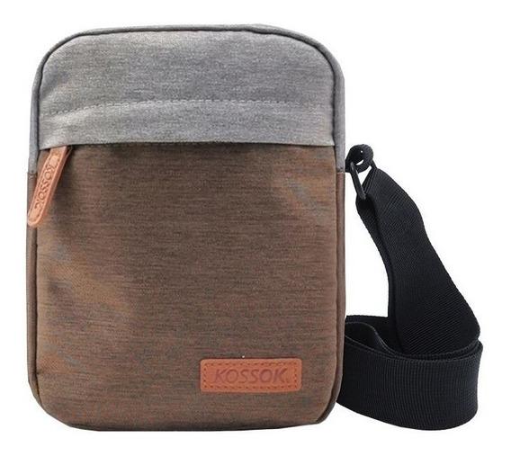 Morral Render Kossok Eco Cuero Porta Laptop Ner736