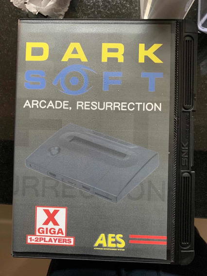 Neo Geo Aes Dark Soft
