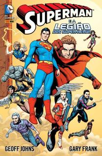 Superman E A Legião De Super Heróis - Hq Capa Dura Lacrado