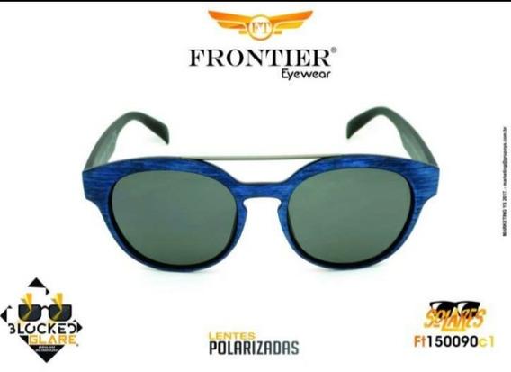 Óculos Solar Lente Polarizada Grife Frontier