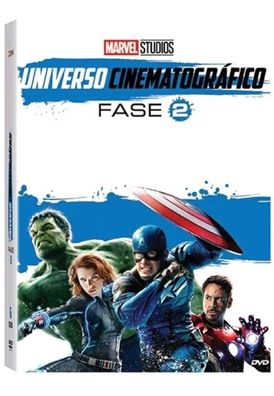 Universo Cinematográfico - Fase 2 - Box Com 6 Dvds - Marvel