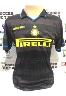 Camisa Inter De Milao Final Copa Da Uefa 1998 Ronaldo 10