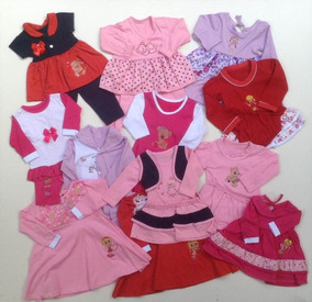 Roupa Bebê Menina Infantil 10 Conjuntos Inverno 2-6 Meses