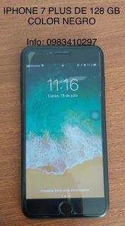 iPhone 7 Plus De 128 Gb Color Negro