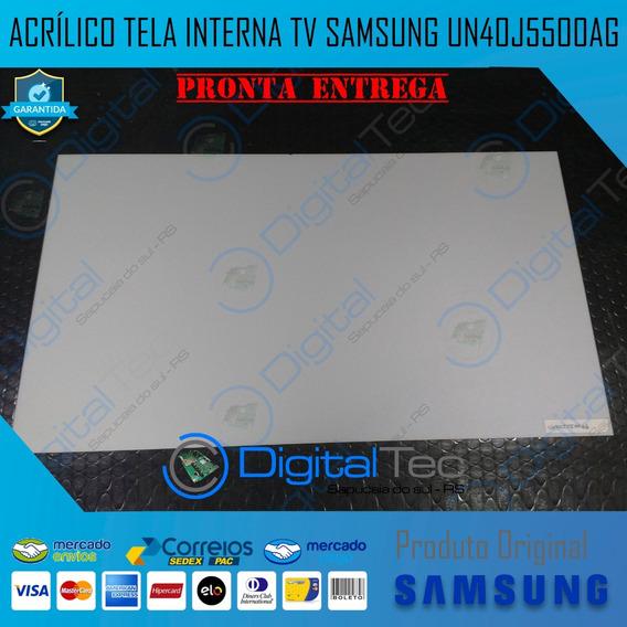 Acrílico Interno Tv Samsung Un40j5500ag (não Envio)