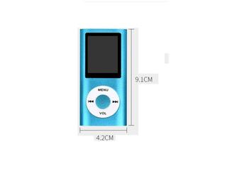 Reproductor Multimedia Mp4 Player Mp4 Fm Radio Mic + Envio