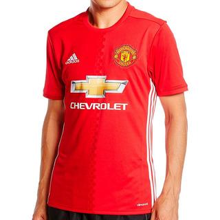 Playera Futbol Soccer Manchester United Hombre adidas Ai6720
