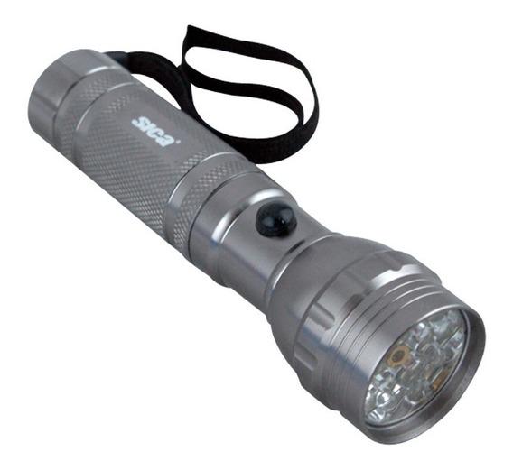 Linterna Led Sica 3 En 1 Linterna + Laser + Ultravioleta