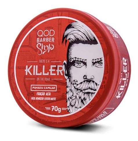 Pomada Capilar Killer Qod Barber Shop 70g