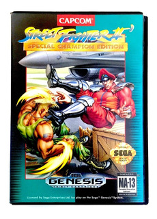 Sega Genesis Street Fighter 2 Champion Ed 1993