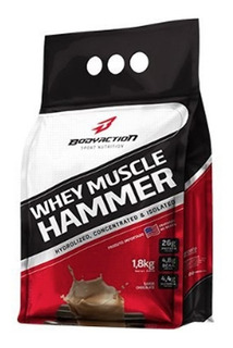 Whey Muscle Hammer 1,8kg Body Action Entrega Rapida