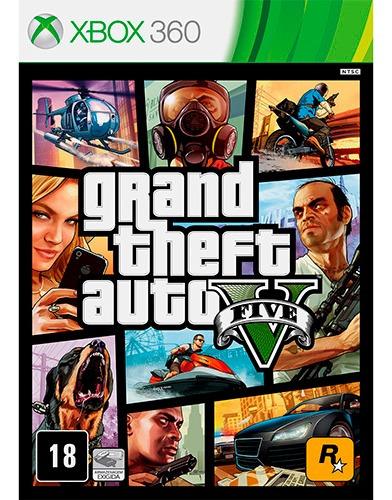 Gta V Xbox 360 Mídia Digital Sem Transferência !