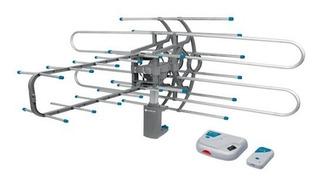 Antena Amplificada Control Remoto Hd Tv Voltech