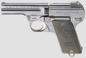 Garruncha Arma Historica Pistola Modelo 1908 De Steyr-pieper