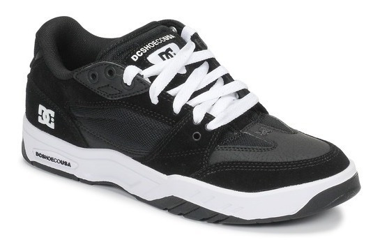 Tênis Dc Shoes Maswell Imp - White/black