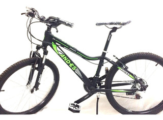 Bicicleta Niño Mtb Andes Rodado 24 Freno Vbrake 21 Velocidad