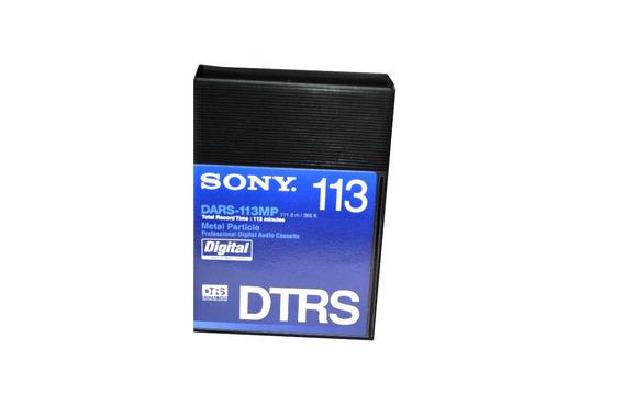 Sony Fita De Audio Digital Tape Hi8 Dars-113mp 113 Minutos
