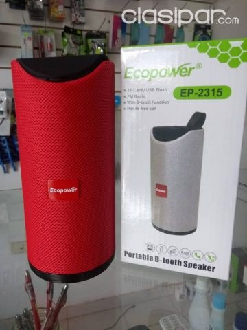 Speaker Caixa Ecopower Ep-2315- Usb Sd - Bluetooth Tipo Jbl