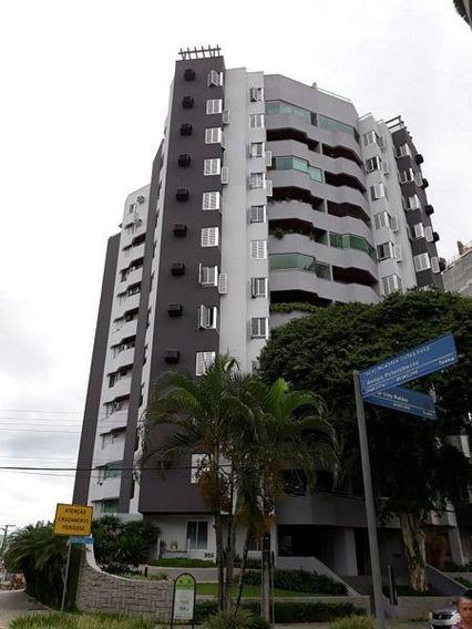Apartamento No Centro Com 3 Quartos Para Locação, 126 M² - La437
