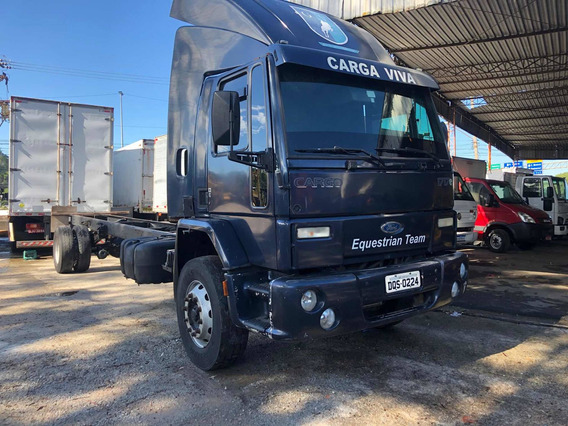 Ford Cargo 1717 Ano 2005 No Chassi P Baú De 9 Mts