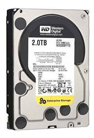 Disco Duro Western Digital Wd 2tb Sata 3.5 Dvr Pc