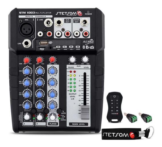 Crossover Stetsom Stm1003 3ch Bt Usb P2 + Controle Txm 60m