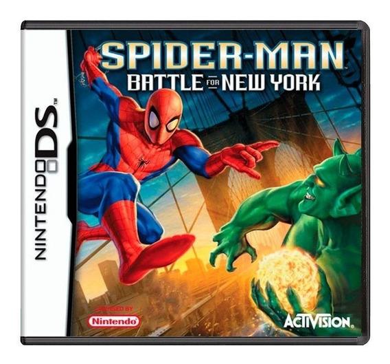 Spiderman Battle For New York Ds Mídia Física Pronta Entrega