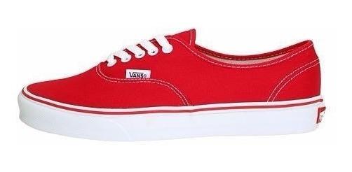 Tenis Vans Authentic Red