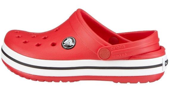 Crocs Crocband Rojo Rojas Hombre Mujer Original Nuevas