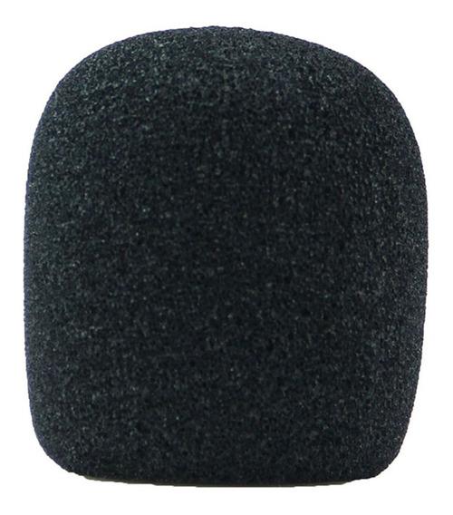Espuma Para Microfone Preta Csr Gm-515b - Super Promoção