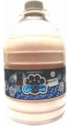 Imagen 1 de 7 de Shampoo Para Perro Chukus 5 Litros + Envío Gratis Aroma Coco