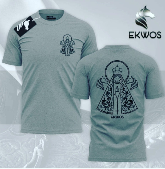Camiseta Ekwos Ns. Senhora Tam M 100% Original