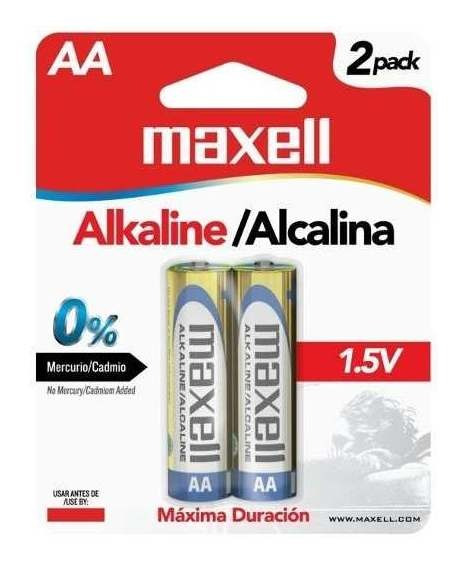 Pilas Doble Aa Super Alkalinas
