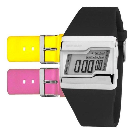 Relógio Mormaii Digital Troca Pulseira Fz/t8t Original