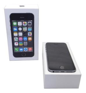 iPhone 5s 16gb Preto Usado Seminovo Celular Com Caixa