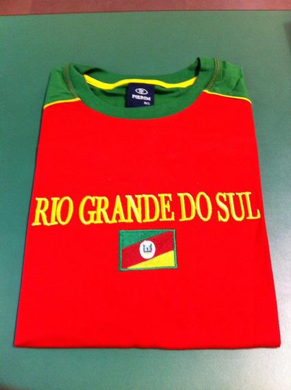 Camiseta Da Bandeira Do Rio Grande Do Sul