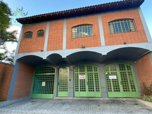 Salão Para Alugar, 324 M² Por R$ 9.000,00/mês - Conjunto Residencial Irai - Suzano/sp - Sl0125