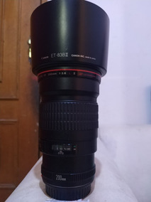 Lente Canon 200mm 2.8 Usm Ii Impecavel