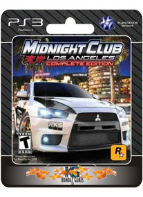 Midnight Club Los Angeles Complete Edition -ps3- (digital) *
