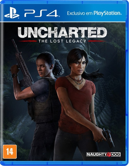 Uncharted - The Lost Legacy - Ps4 | Jogos Ps4 Midia Fisica