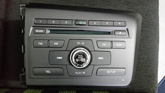 Central Mp3, Rádio E Cd Original Honda Civic Lxr 2016