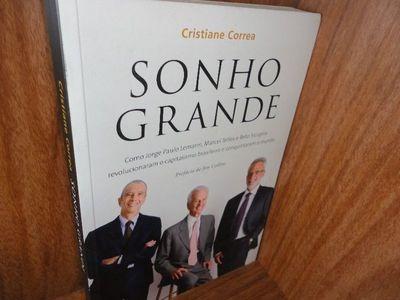 Livro Sonho Grande - Livro Usado Cristiane Correa