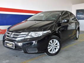 Honda City Lx 1.5 Flex Automático Completo Financia E Troca