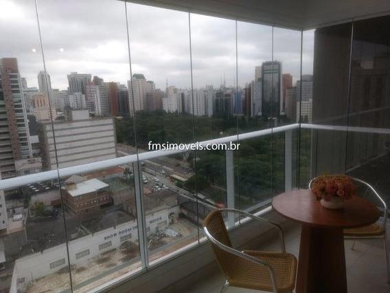 Studio Para Para Alugar Com 1 Quarto 1 Sala 35 M2 No Bairro Consolação, São Paulo - Sp - Ap284832ms