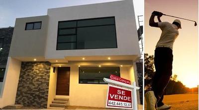 Preciosa Casa Luxury En Zibatá, Roof Garden, 3 Recámaras, Estudio Sala Tv, Lujo!