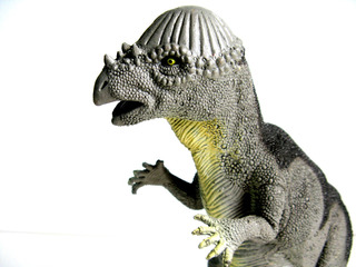Dinosaurio Goma N31 Pachycephalosaurus Grande Juguetes Dino