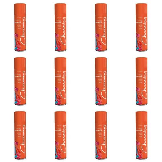 Charming Spray Fixador De Maquiagem 250ml (kit C/12)